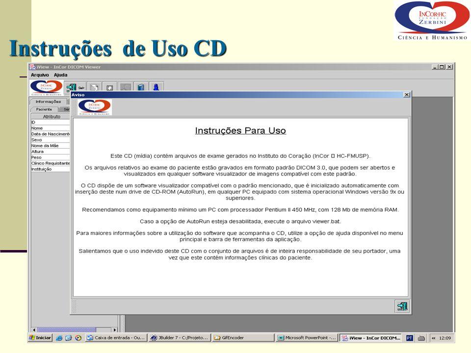 Instruções de Uso CD