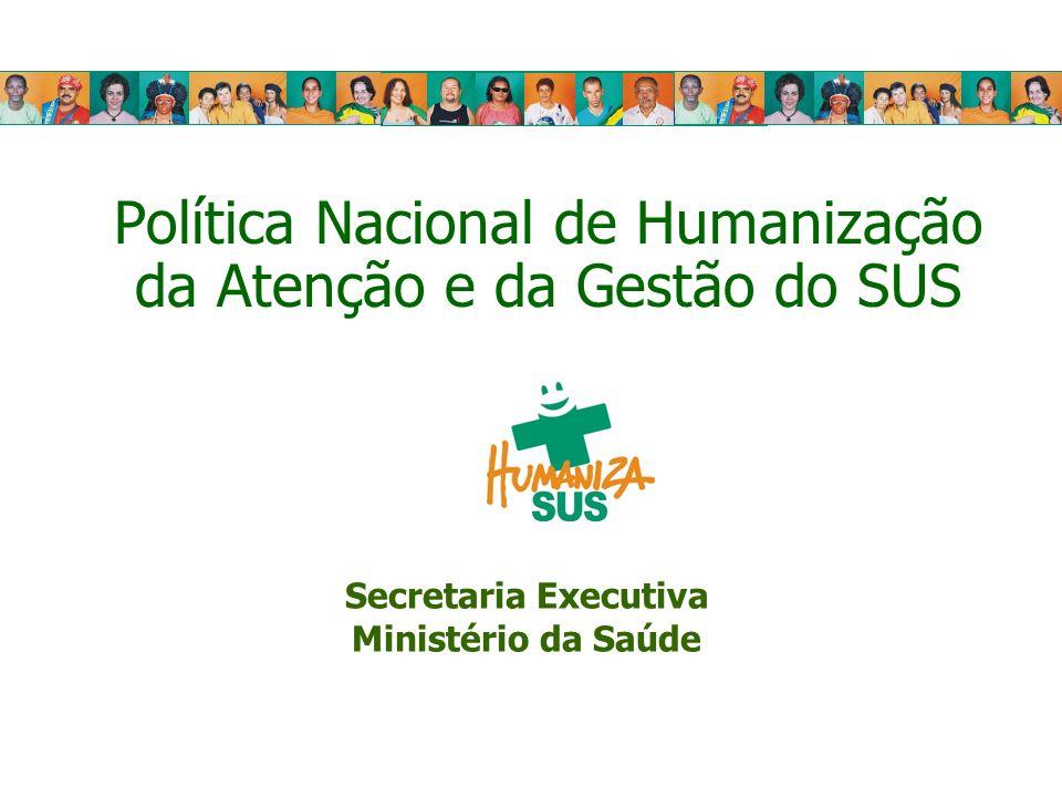 Política Nacional de Humanização da Atenção e da Gestão do SUS