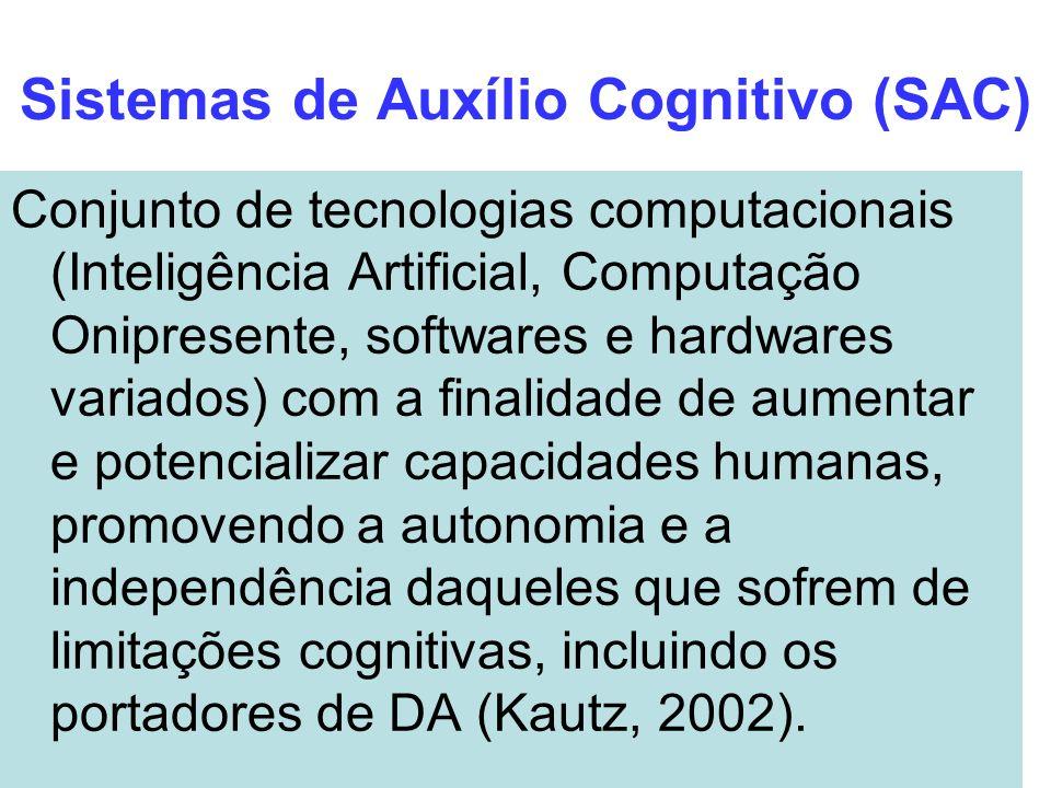 Sistemas de Auxílio Cognitivo (SAC)