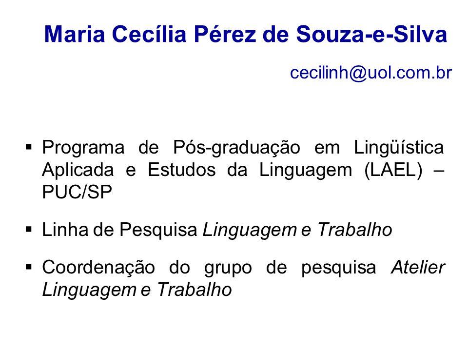 Maria Cecília Pérez de Souza-e-Silva