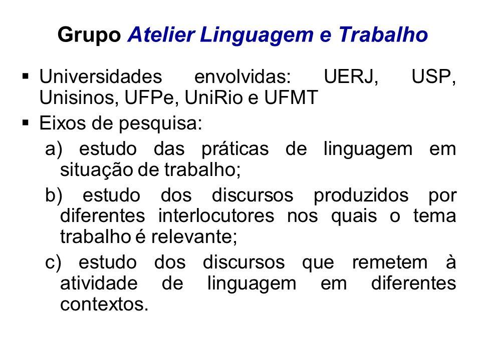 Grupo Atelier Linguagem e Trabalho