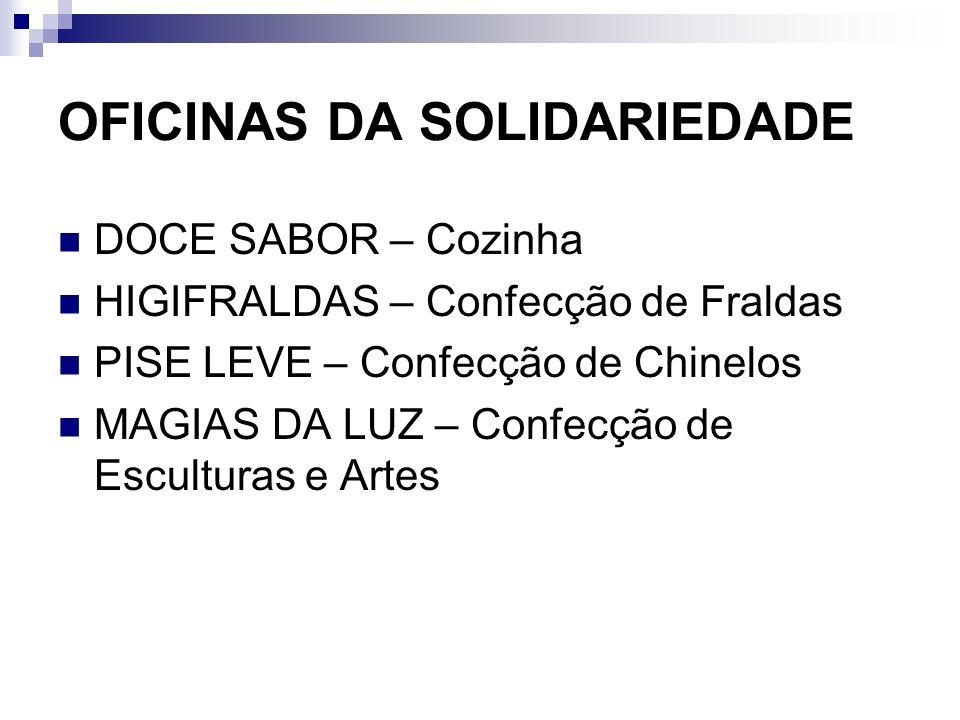 OFICINAS DA SOLIDARIEDADE