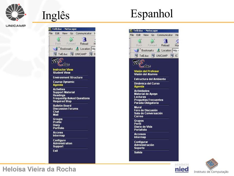 Espanhol Inglês