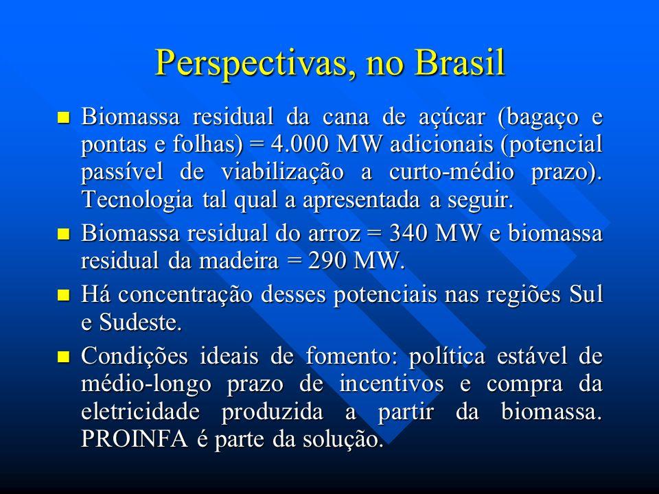 Perspectivas, no Brasil