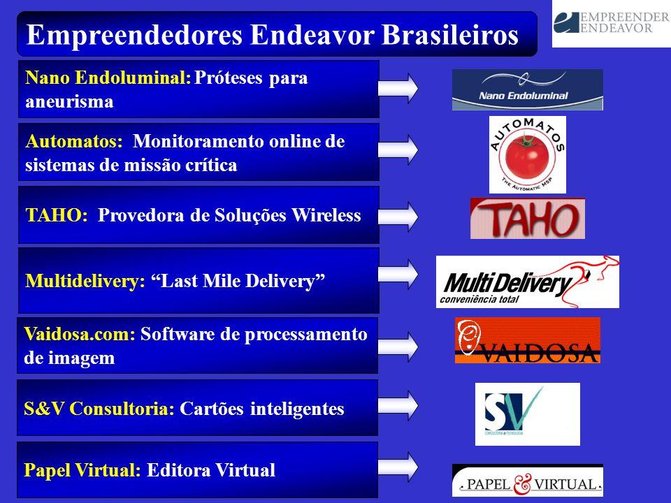 Empreendedores Endeavor Brasileiros