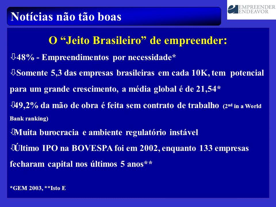 O Jeito Brasileiro de empreender:
