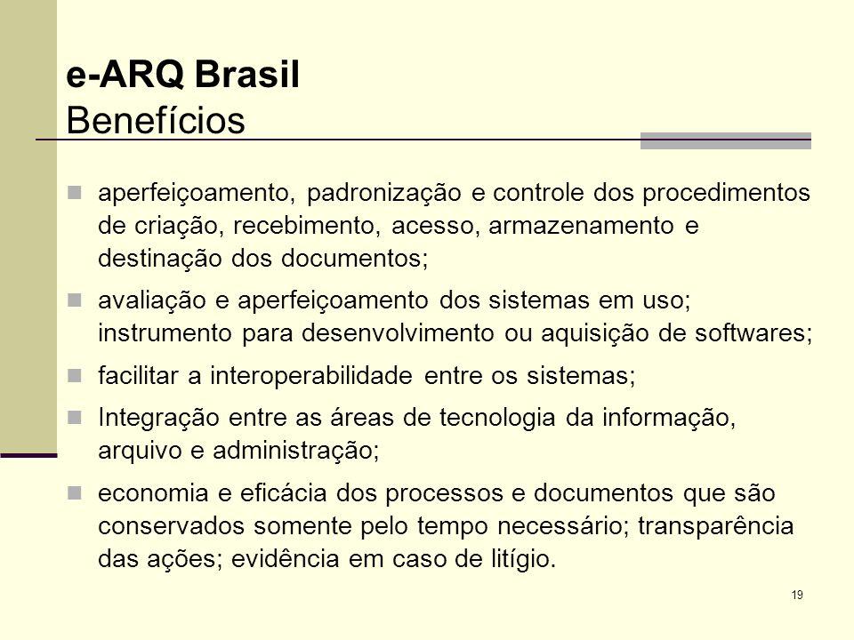 e-ARQ Brasil Benefícios