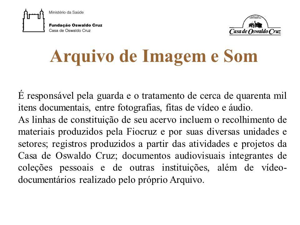 Arquivo de Imagem e Som