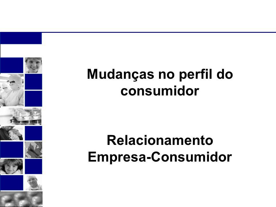 Mudanças no perfil do consumidor