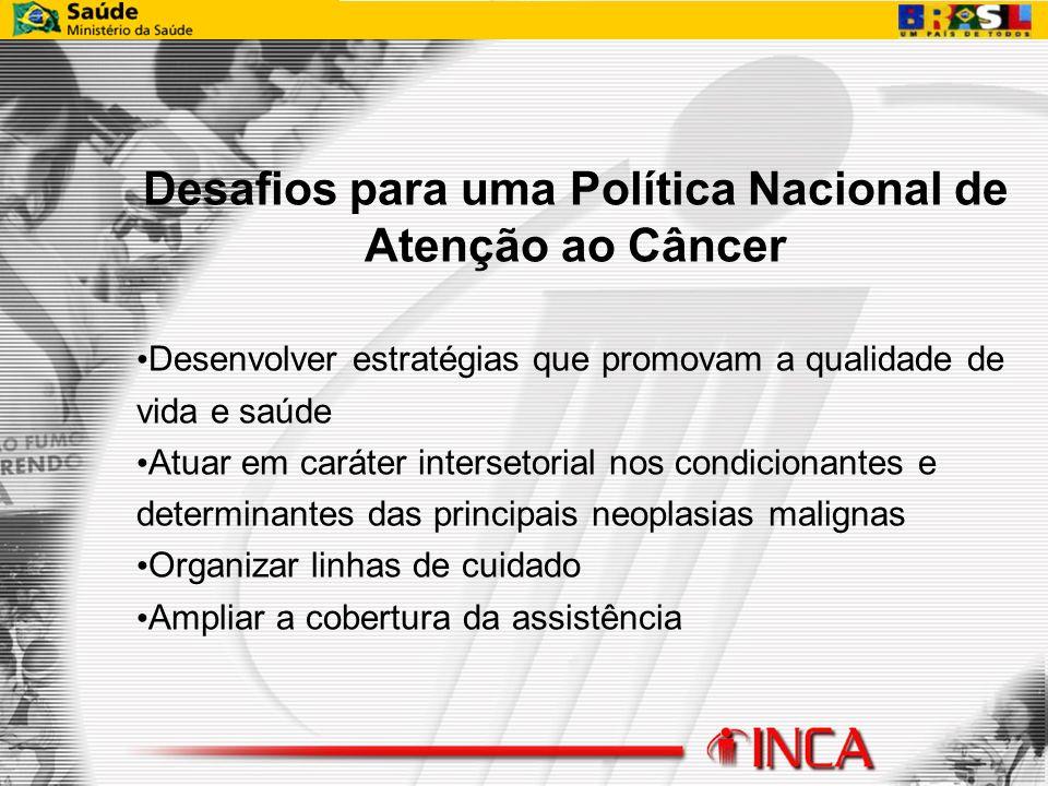 Desafios para uma Política Nacional de Atenção ao Câncer