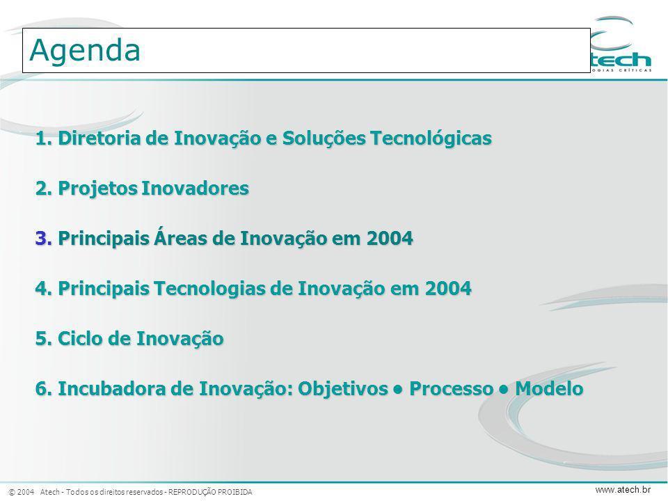 Agenda 1. Diretoria de Inovação e Soluções Tecnológicas