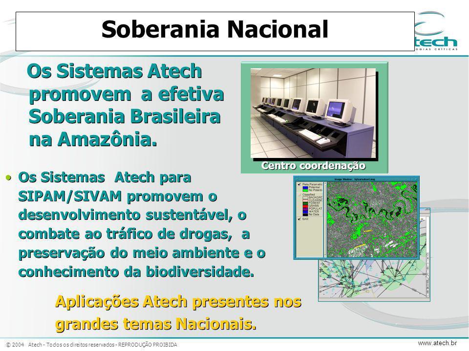 Soberania Nacional SIPAM/SIVAM