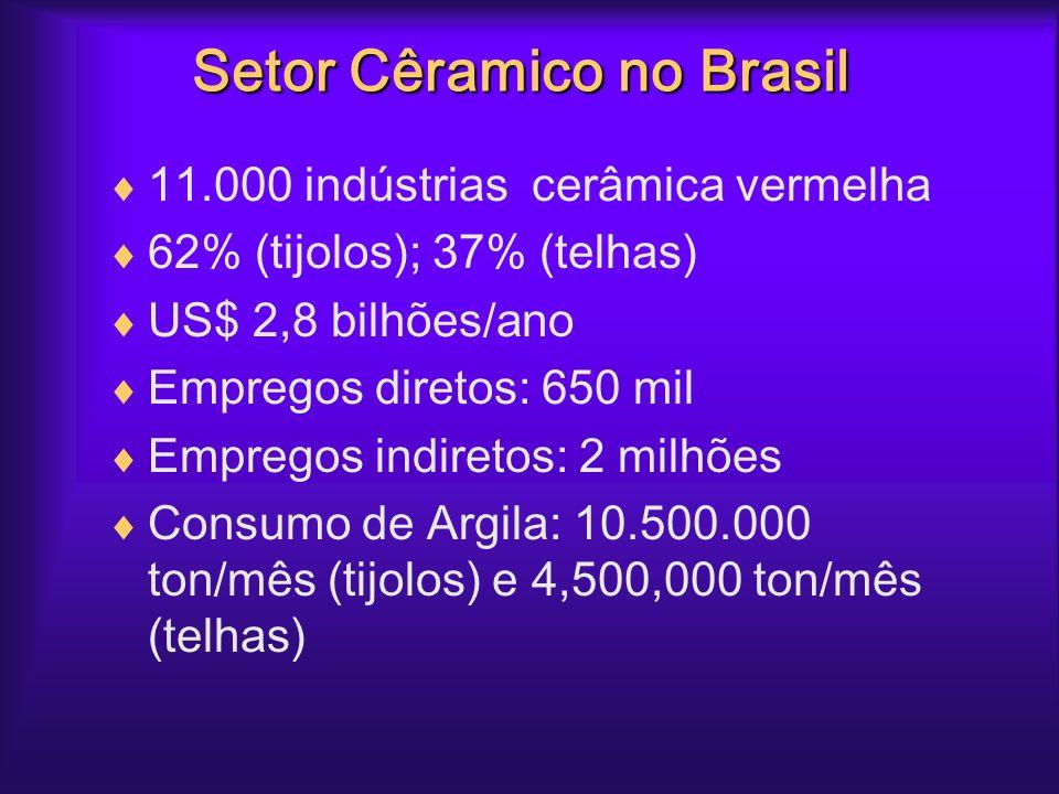 Setor Cêramico no Brasil