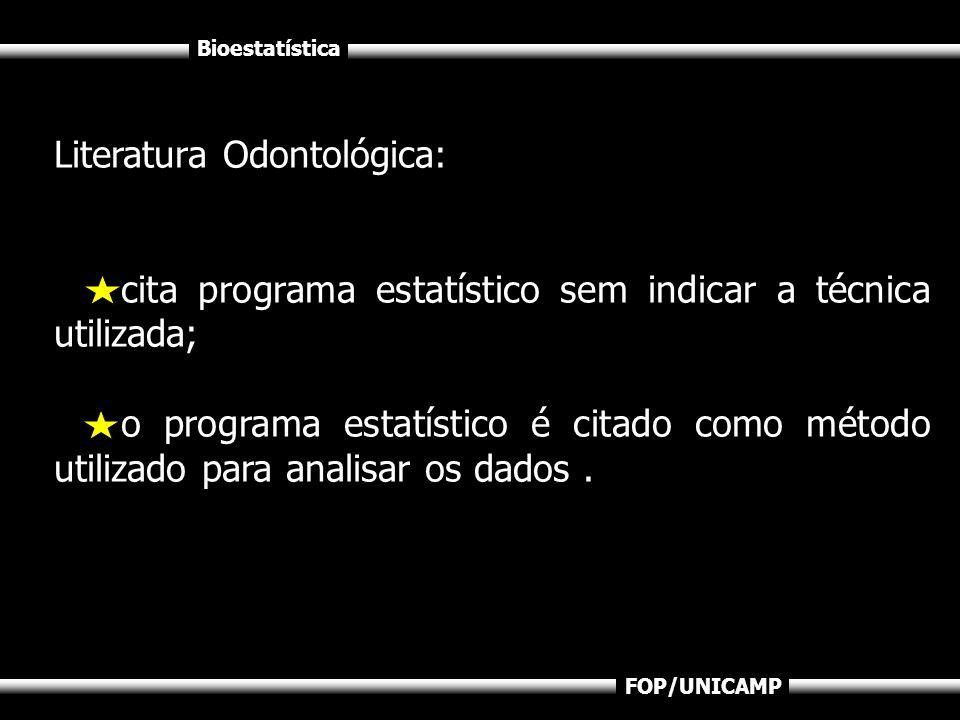 Literatura Odontológica: