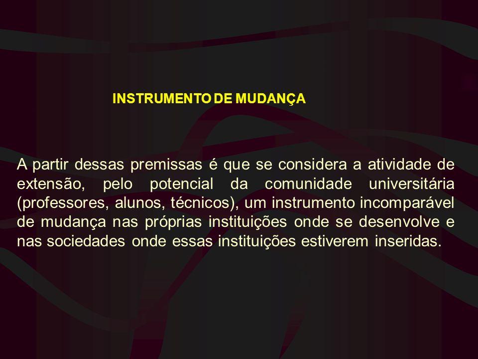 INSTRUMENTO DE MUDANÇA