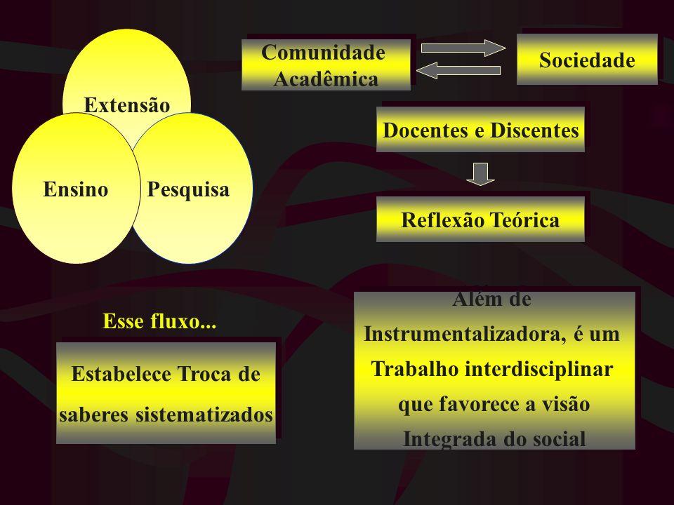 Instrumentalizadora, é um Trabalho interdisciplinar