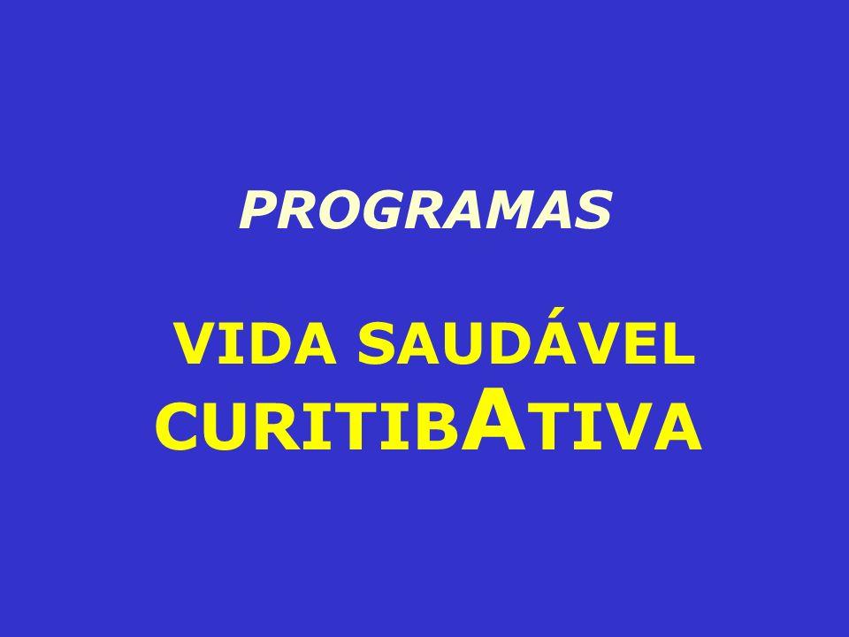 PROGRAMAS VIDA SAUDÁVEL