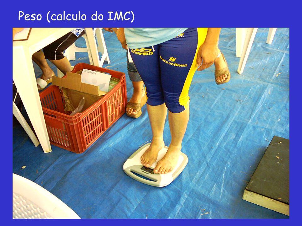 Peso (calculo do IMC)