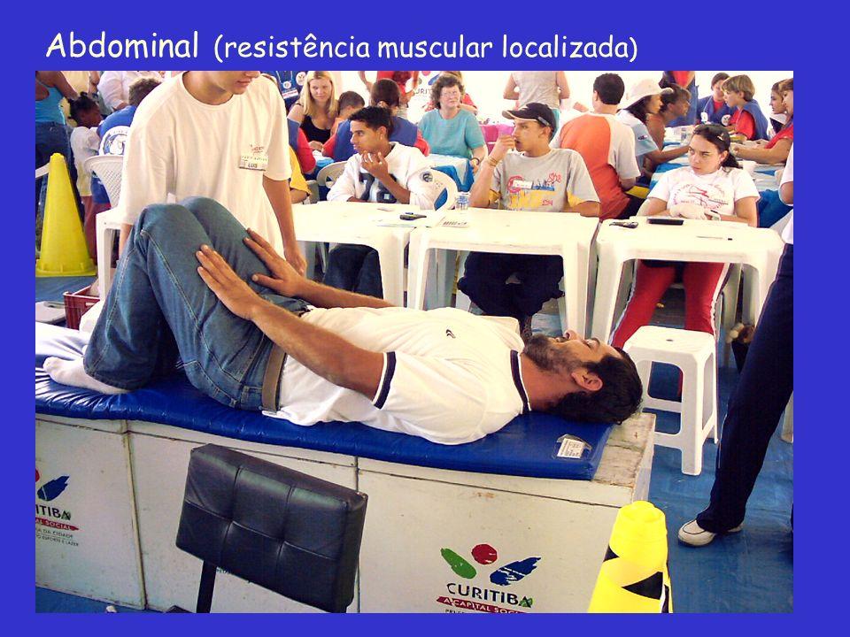 Abdominal (resistência muscular localizada)