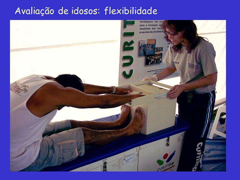 Avaliação de idosos: flexibilidade