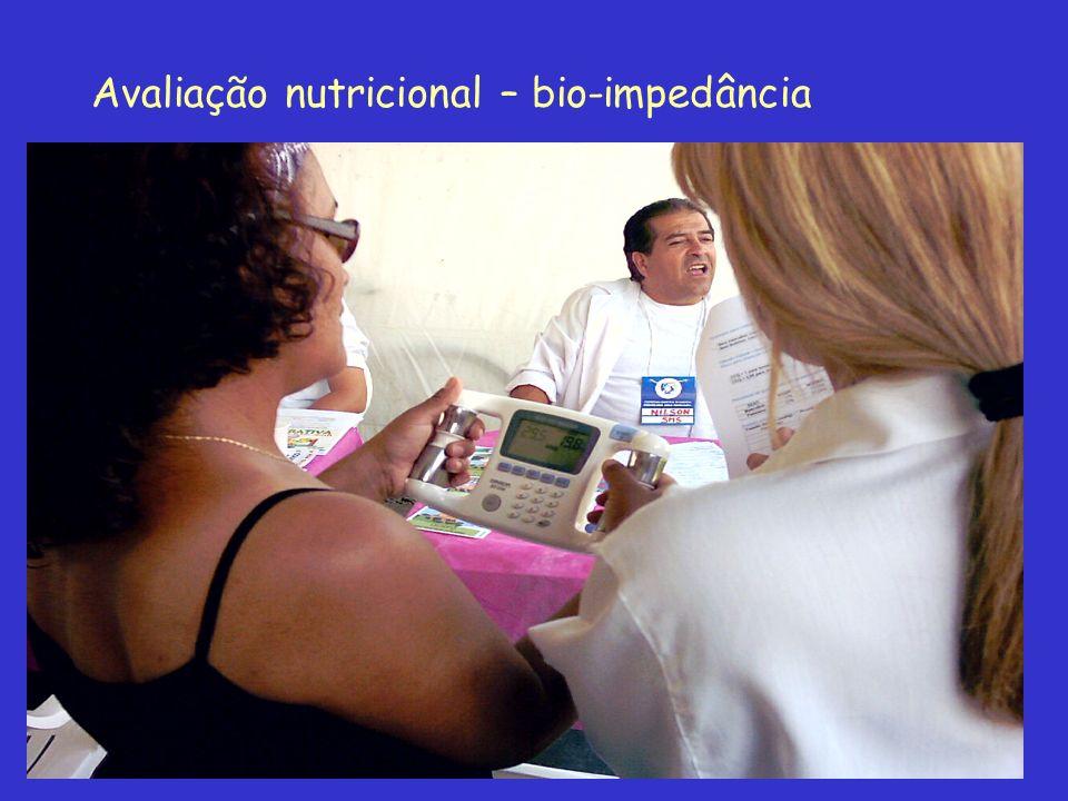 Avaliação nutricional – bio-impedância