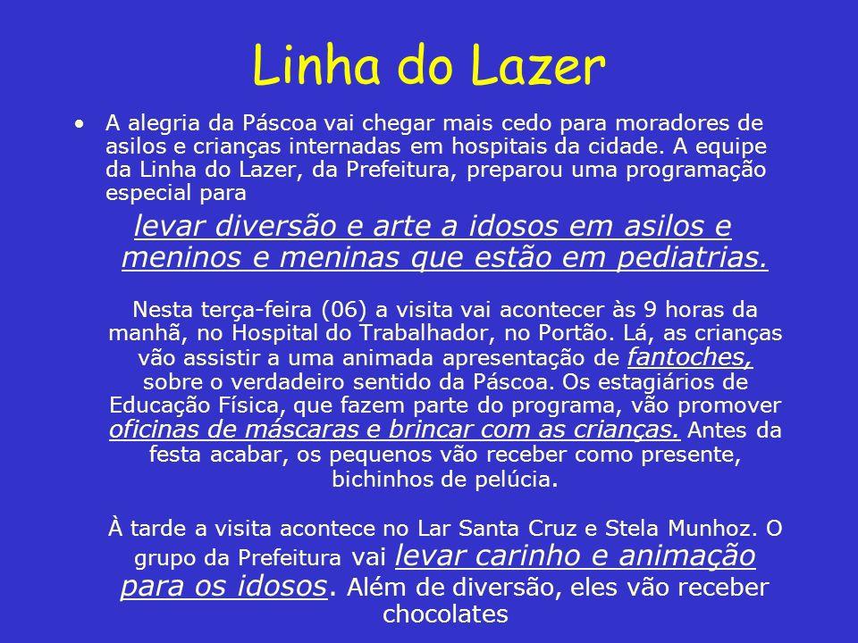 Linha do Lazer