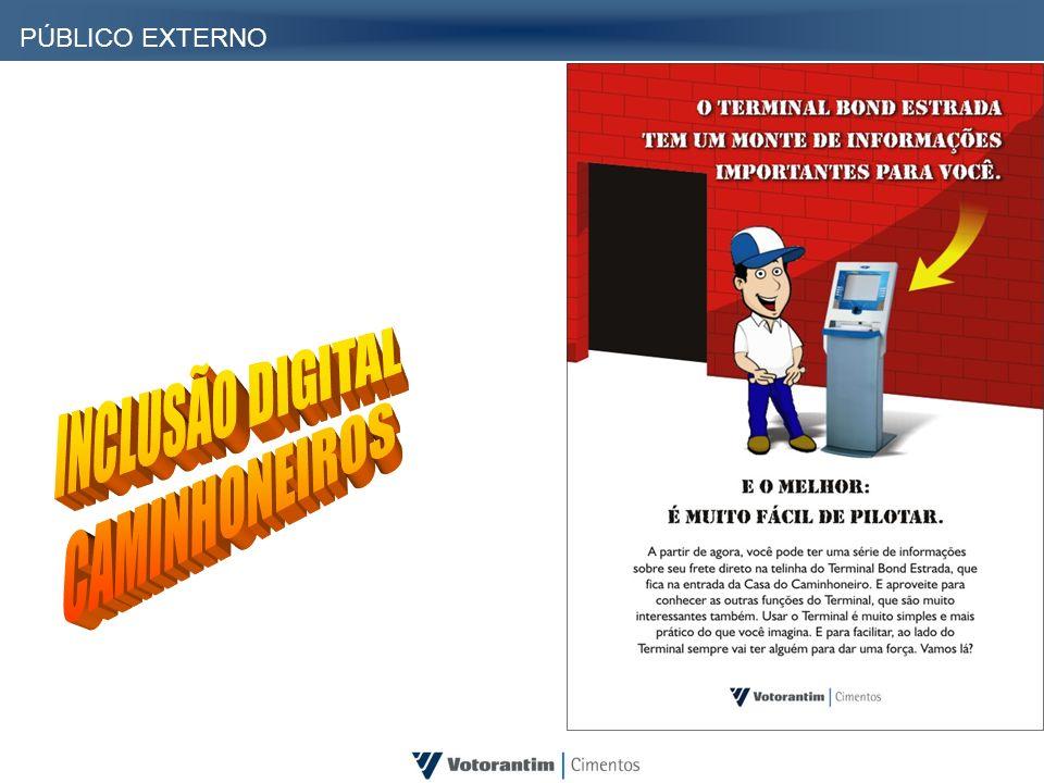 PÚBLICO EXTERNO INCLUSÃO DIGITAL CAMINHONEIROS