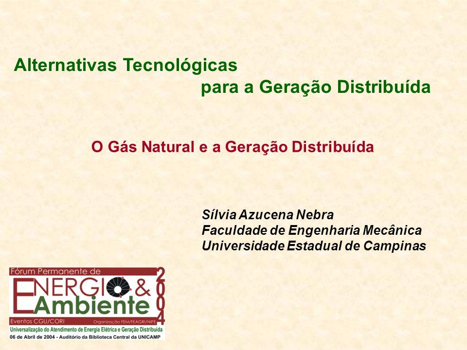 Alternativas Tecnológicas para a Geração Distribuída