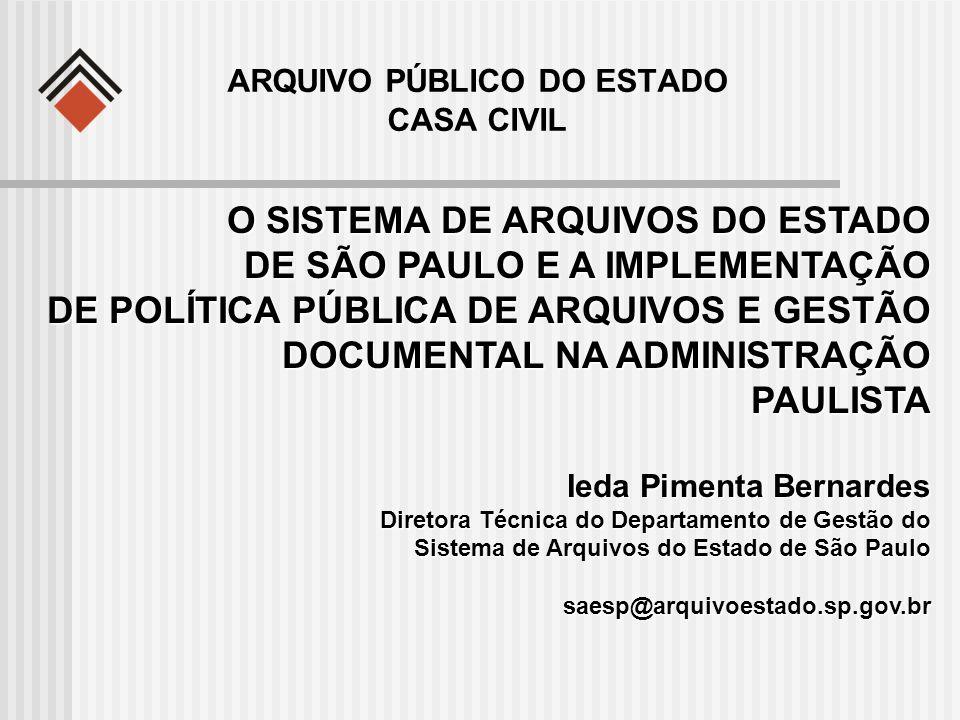 ARQUIVO PÚBLICO DO ESTADO CASA CIVIL