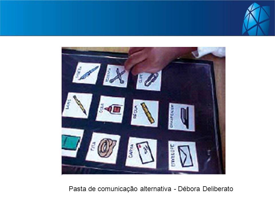 Pasta de comunicação alternativa - Débora Deliberato