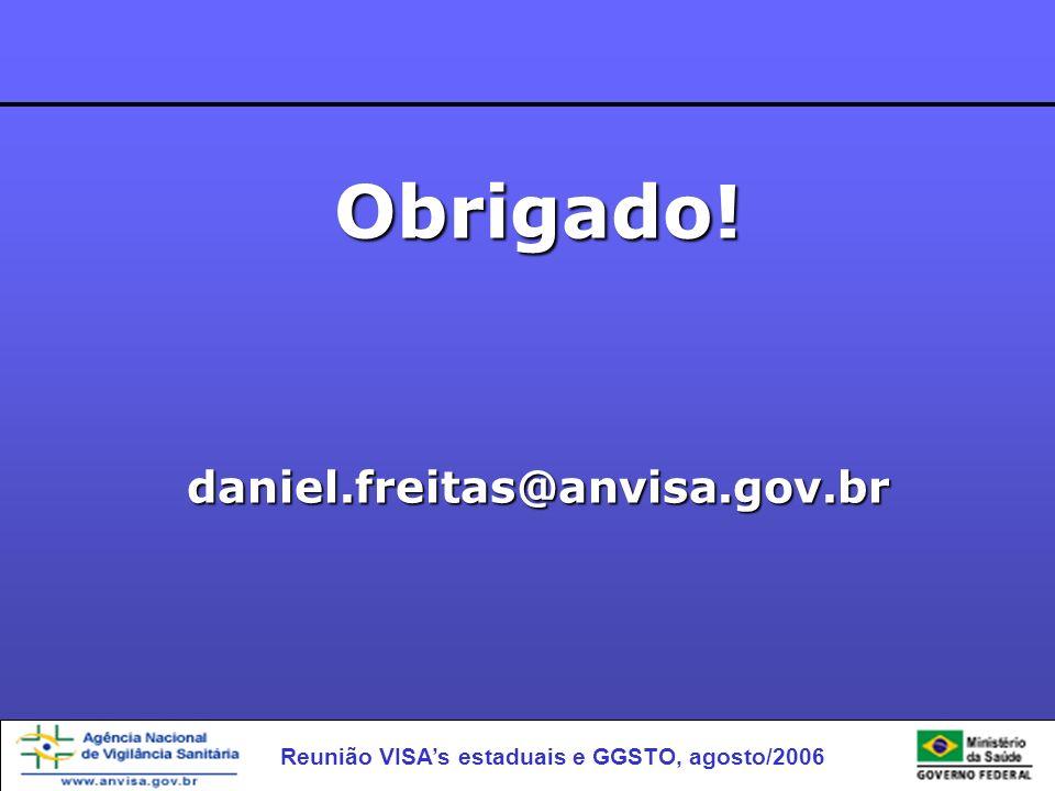 Obrigado! daniel.freitas@anvisa.gov.br