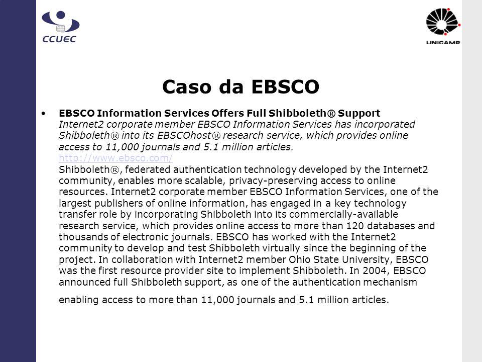 Caso da EBSCO