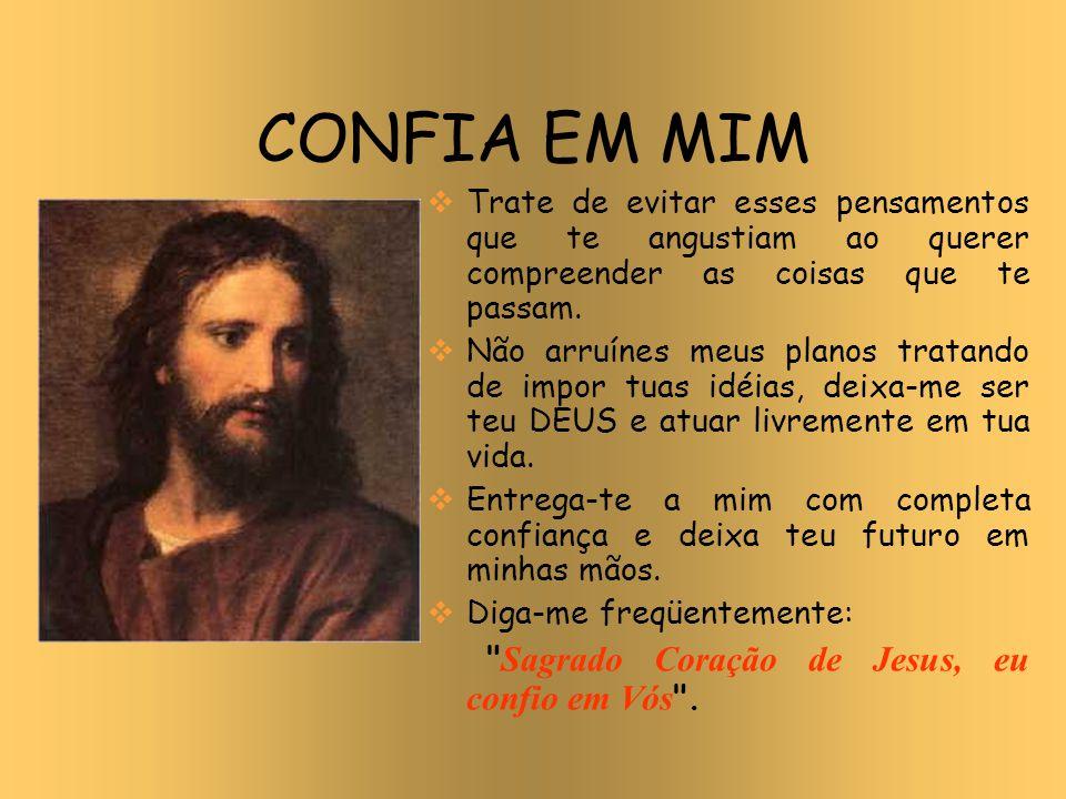 Resultado de imagem para jesus eu confio em vós