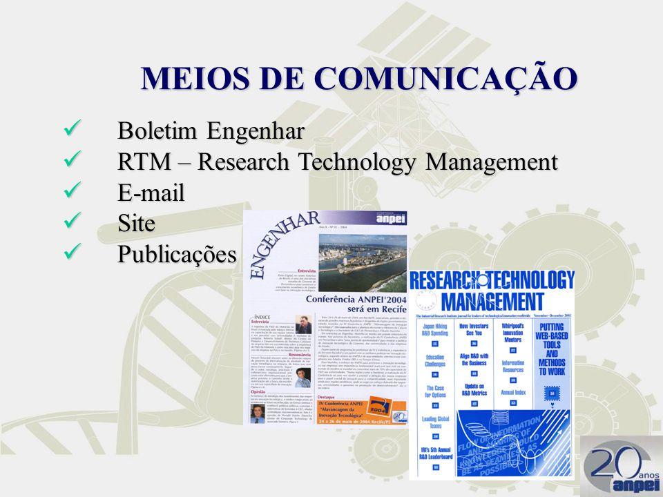 MEIOS DE COMUNICAÇÃO Boletim Engenhar