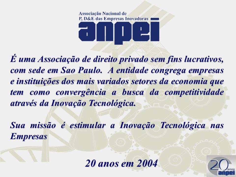É uma Associação de direito privado sem fins lucrativos, com sede em Sao Paulo. A entidade congrega empresas e instituições dos mais variados setores da economia que tem como convergência a busca da competitividade através da Inovação Tecnológica.