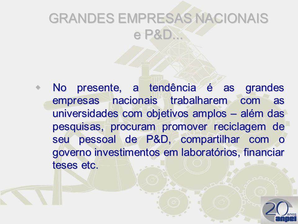 GRANDES EMPRESAS NACIONAIS