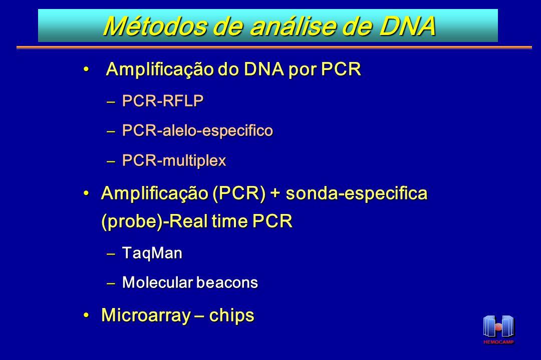Métodos de análise de DNA