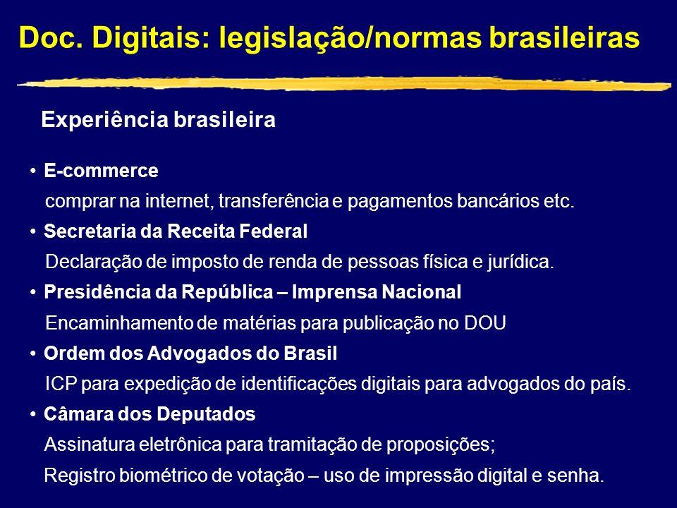 Experiência brasileira