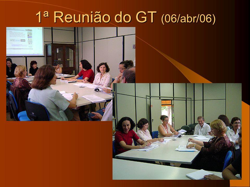 1ª Reunião do GT (06/abr/06)