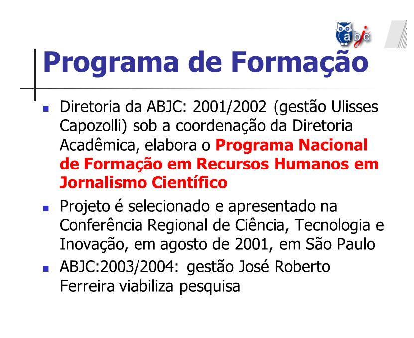 Programa de Formação