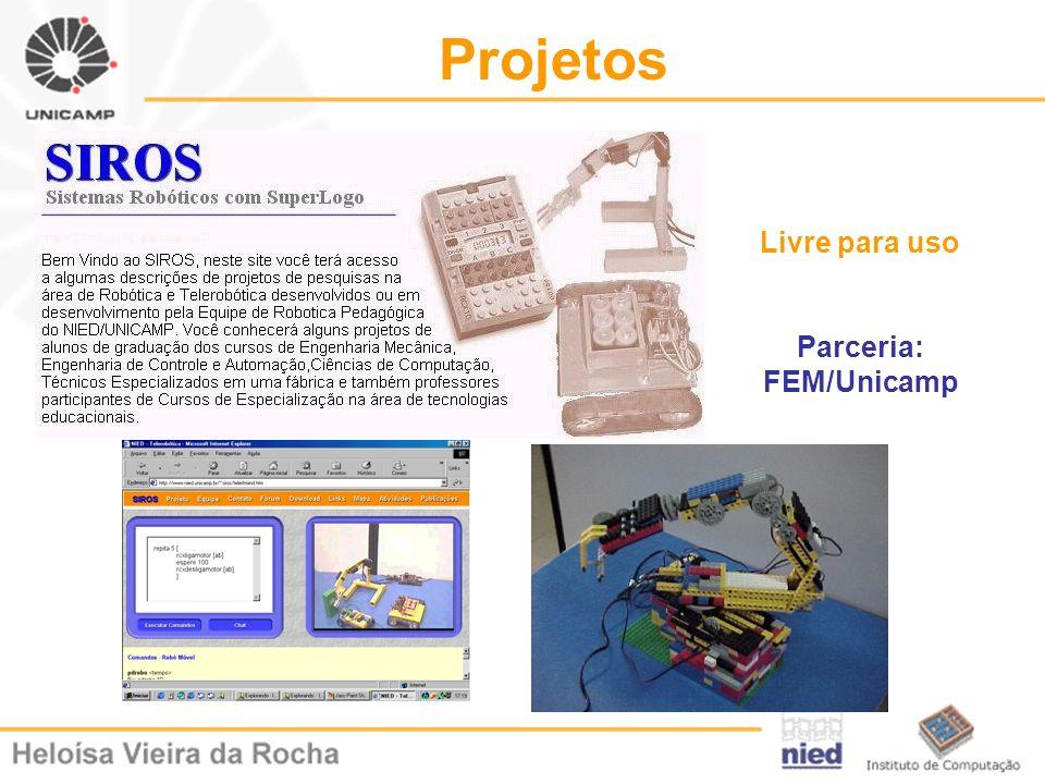 Parceria: FEM/Unicamp