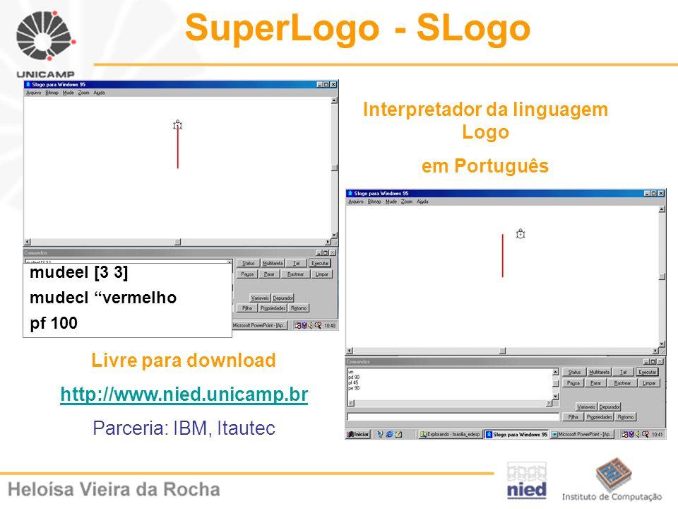 Interpretador da linguagem Logo