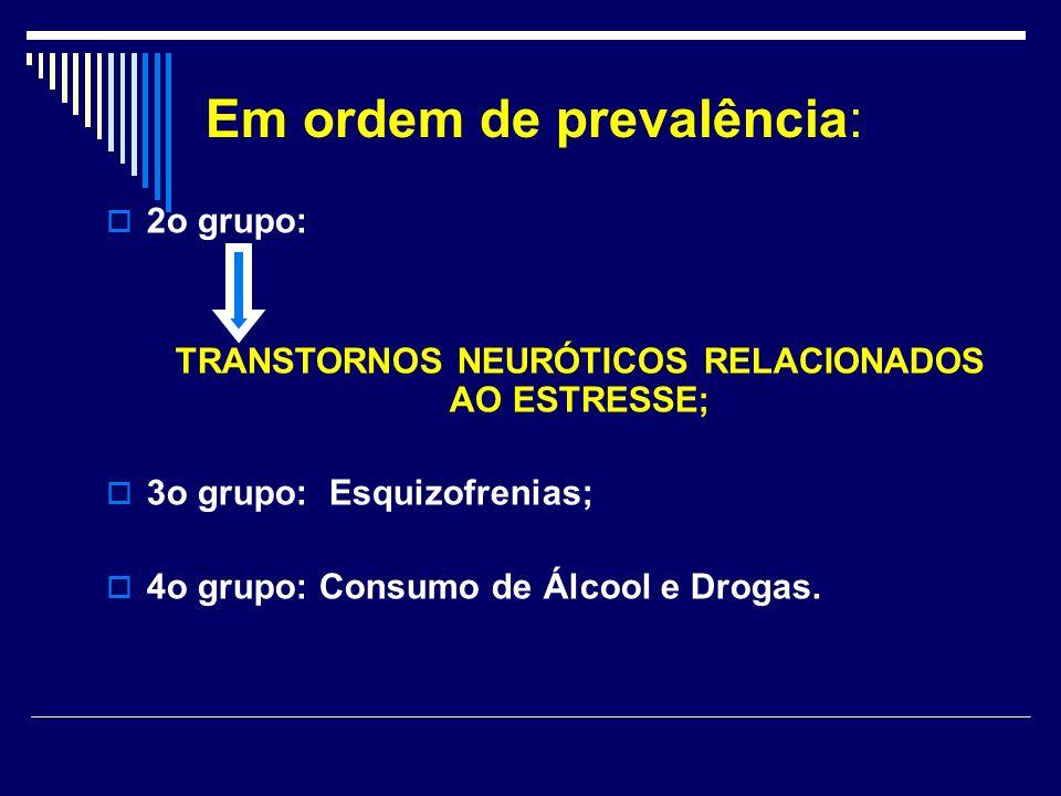 TRANSTORNOS NEURÓTICOS RELACIONADOS AO ESTRESSE;