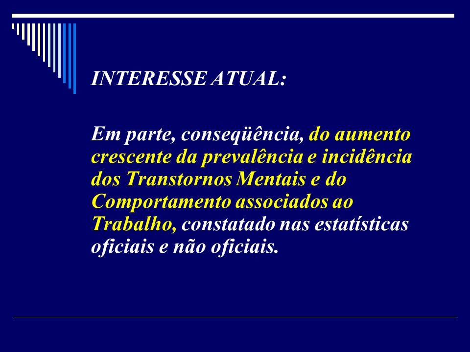 INTERESSE ATUAL: