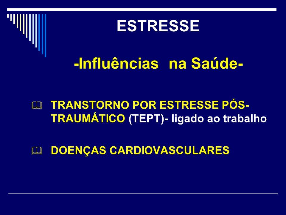 ESTRESSE -Influências na Saúde-