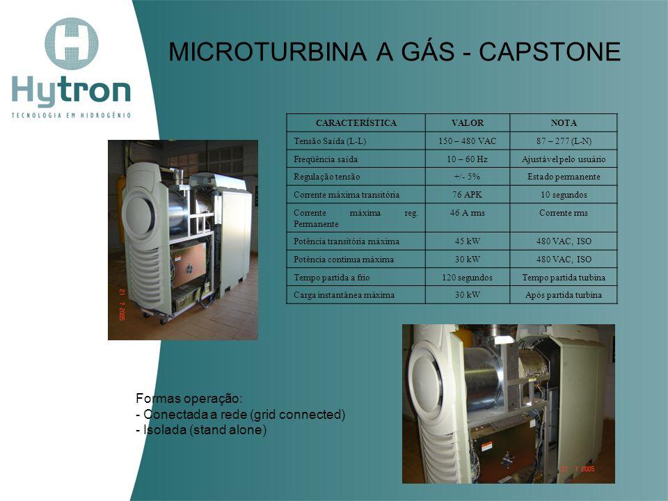 MICROTURBINA A GÁS - CAPSTONE