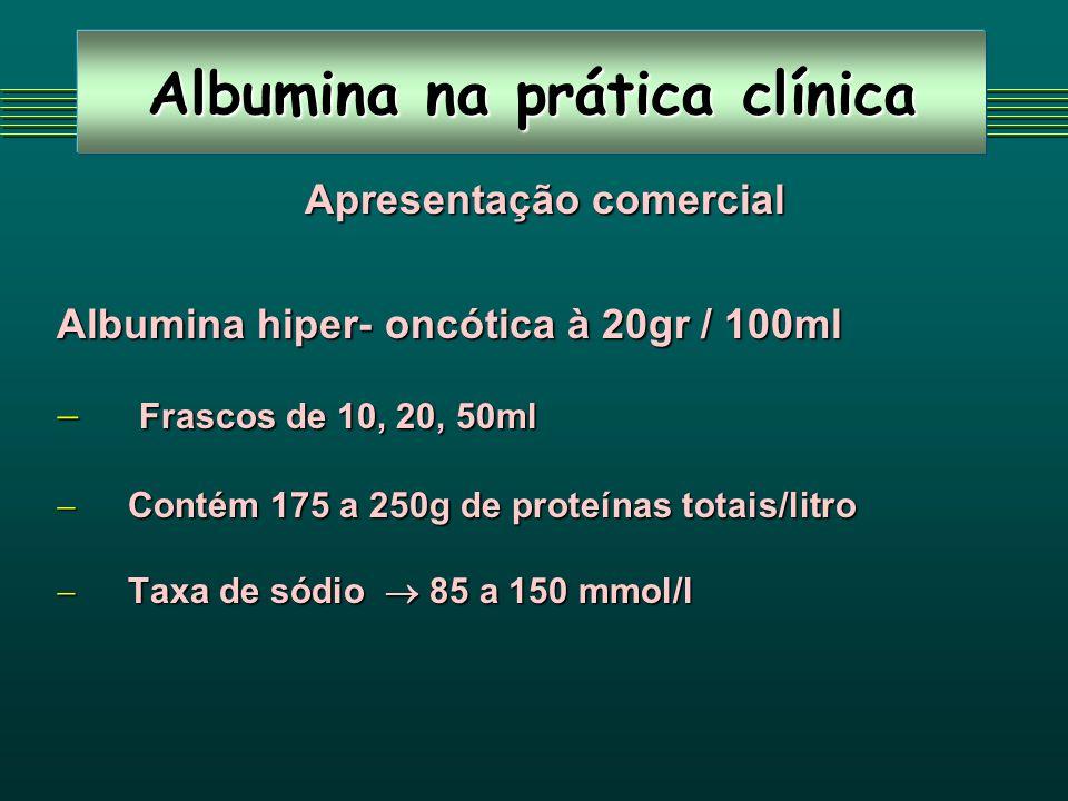 Albumina na prática clínica