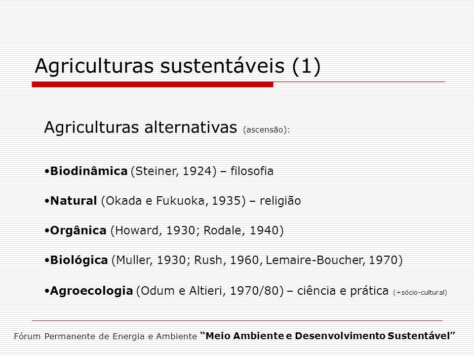 Agriculturas sustentáveis (1)