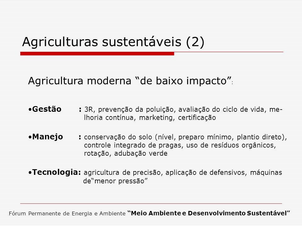 Agriculturas sustentáveis (2)