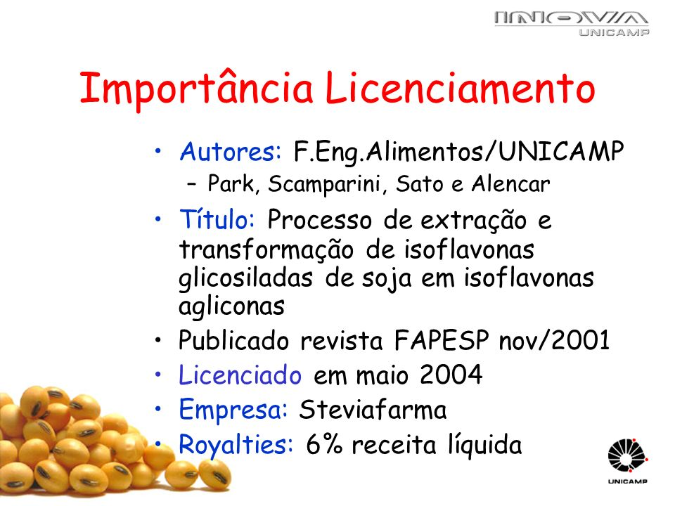 Importância Licenciamento